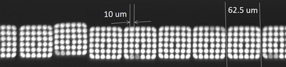 Bundles of optic fibers in Rice University's TuLIPSS spectrometer deliver spatial and spectral data to a detector in an instant. That data can then be processed for quick environmental or biological analysis.  @ Modern Optical Instrumentation and Bio-Imaging Laboratory/Rice University