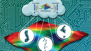 Machine learning reveals new candidate materials for biocompatible electronics