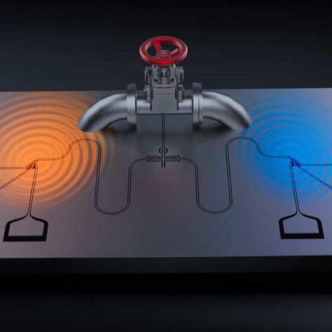 Qubits as valves: Controlling quantum heat engines