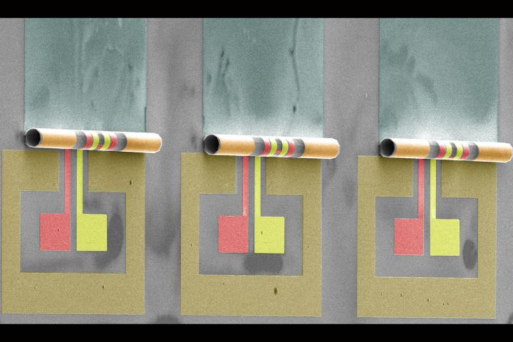 Illinois engineers roll toward smaller, more efficient radio frequency transformers that take 10 to 100 times less space on a microchip. @ Wen Huang