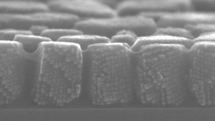 Super-strong magnetic supercrystals can assemble themselves