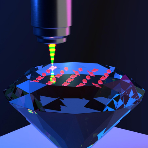Accelerating quantum technologies with materials processing at the atomic scale