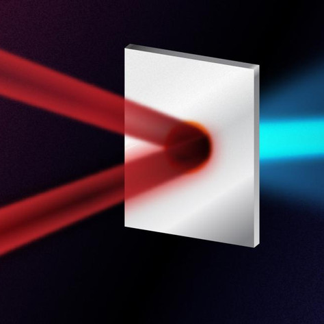 Colliding lasers double the energy of proton beams