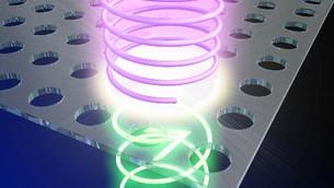 Photonic crystal light converter