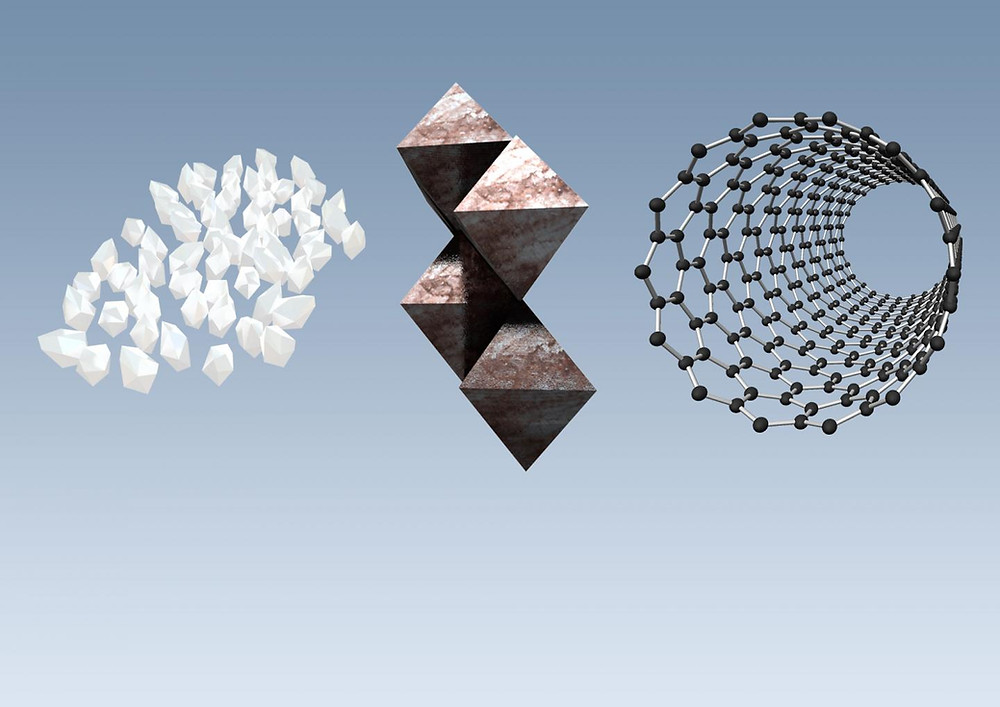 Researchers propose a new method for nanomaterial selection that incorporates environmental and functional performance, as well as cost @ Steve Geringer