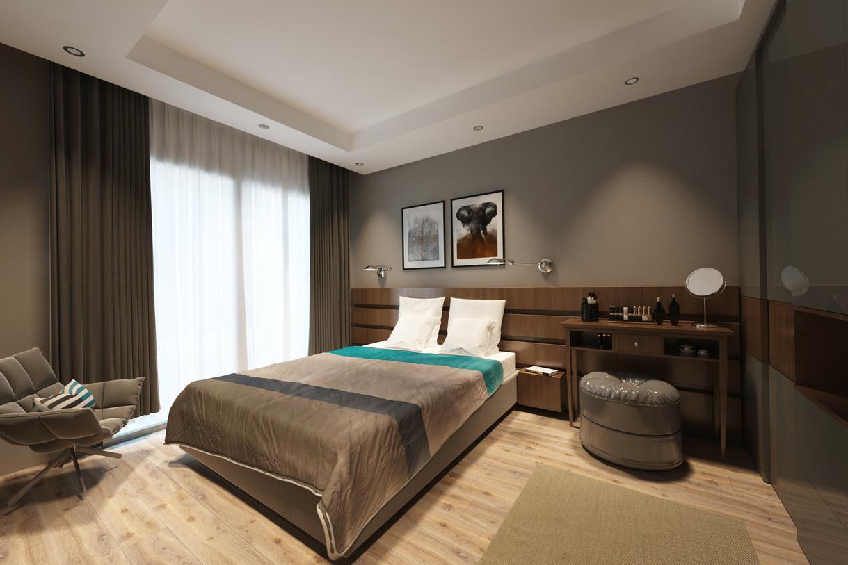 2 + 1 plan - Master Bedroom