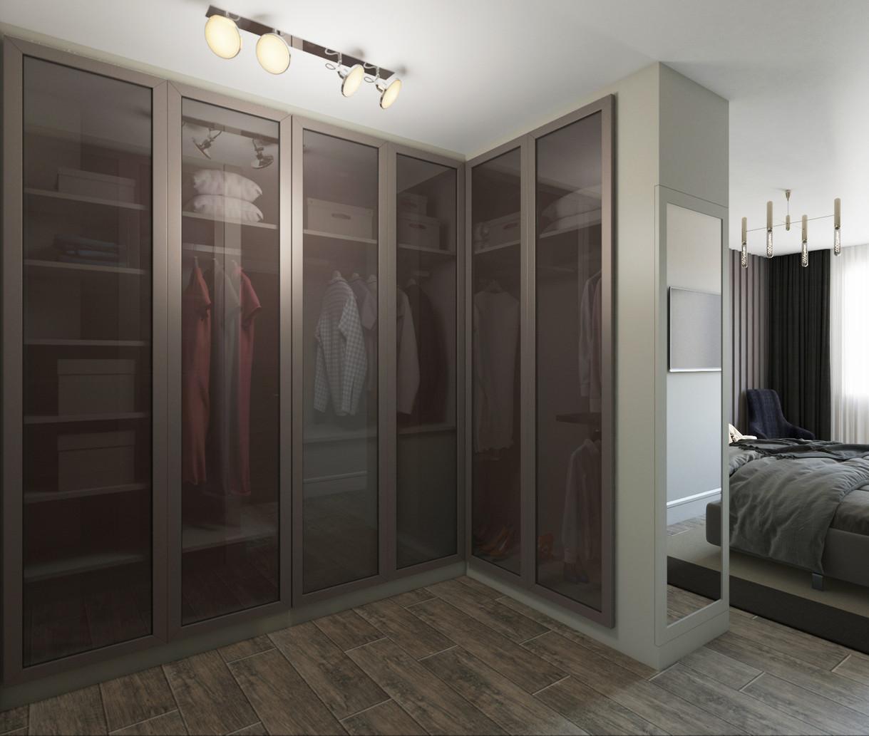 Ebeveyn Yatak Odası Giyinme Bölümü