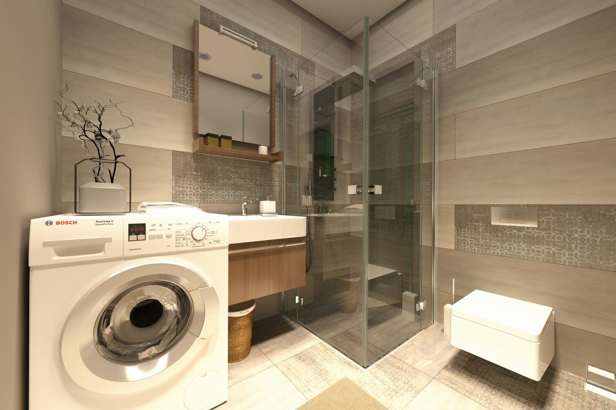 1+1 plan - Bathroom