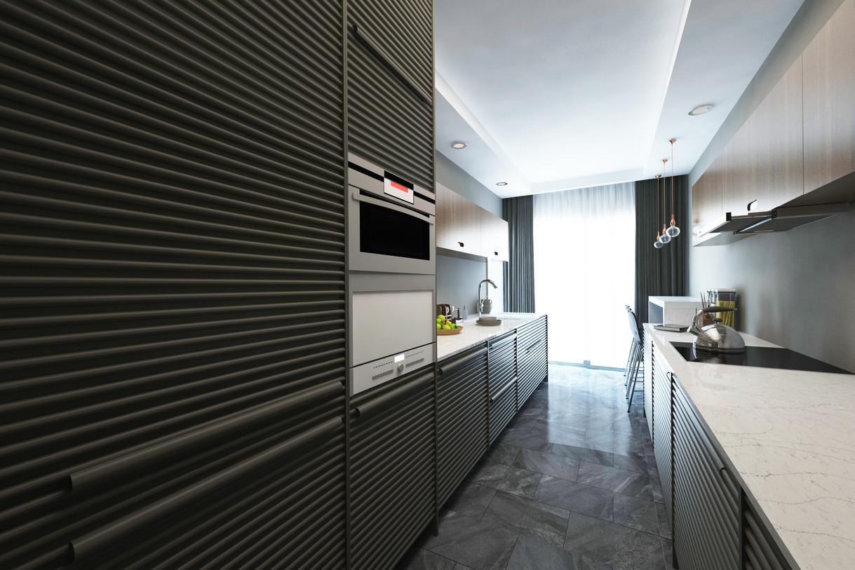 2 + 1 plan - Kitchen