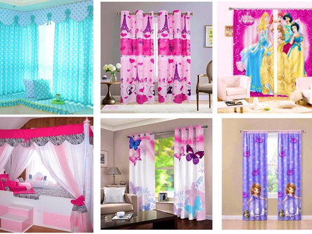 What to keep in mind when selecting curtains for your kids?