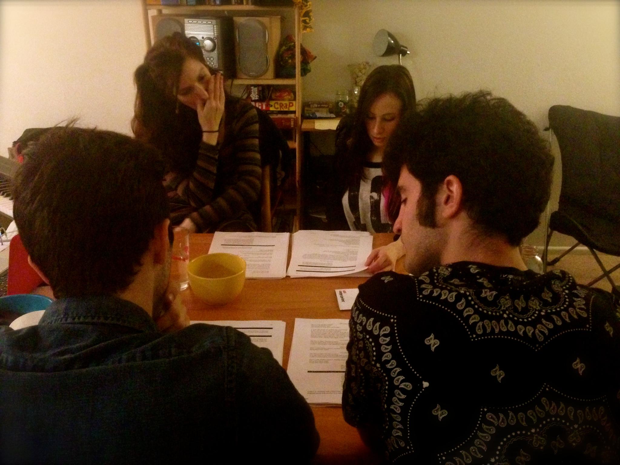 Analyzing the script.