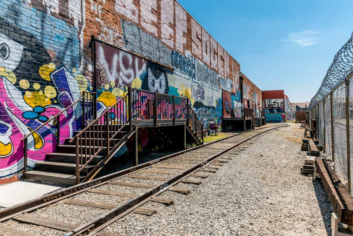 Space #5- Graffiti Railroad Yard