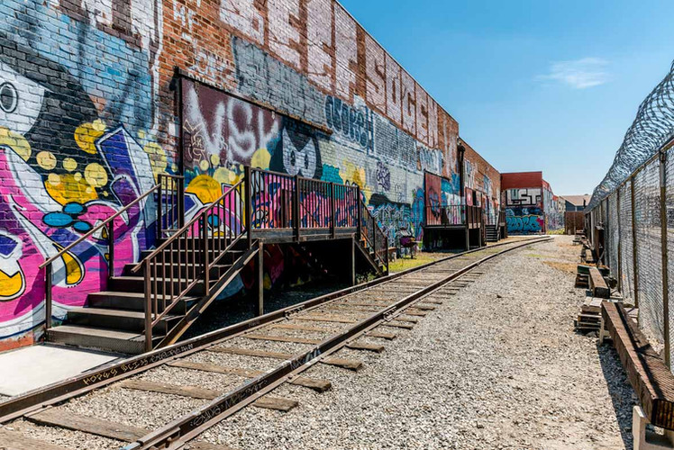 Space #5- Graffiti Railroad Yard