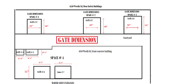 Dimention of the Roll up gates to Space#