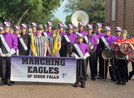 Marching Eagles Of Sioux Falls Finish Successful Season