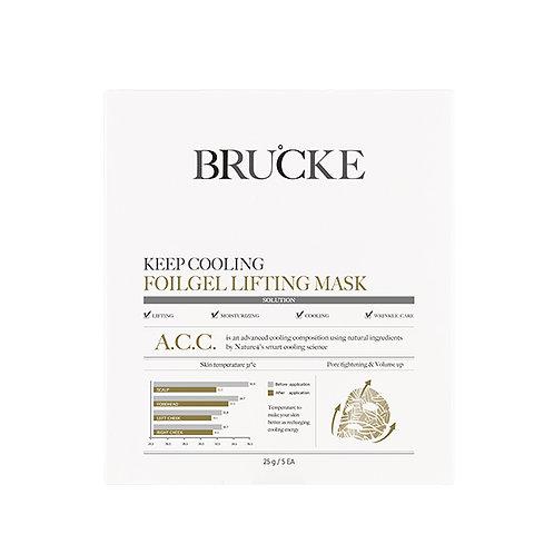 BRUCKE A.C.C. Cooling Foilgel Lifting Mask (1 buc)