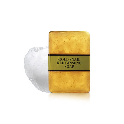 Gold Snail Red Ginseng Soap (90g)