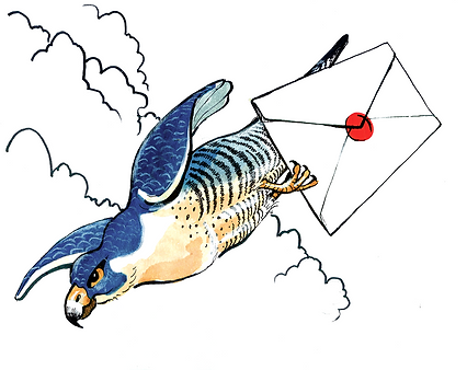 peregrine falcon messenger small.png