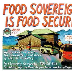 Advertisement for a Food Bank