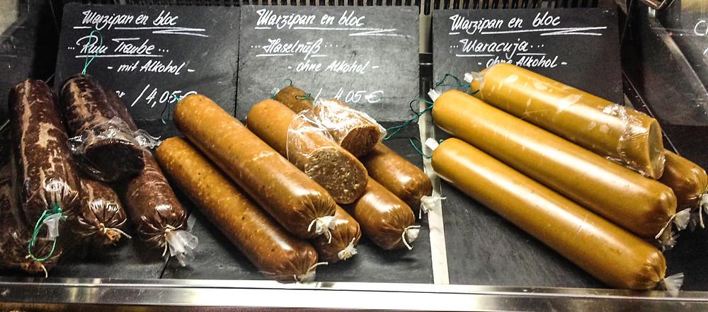 Marzipan statt Leberwurst