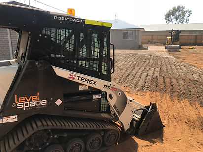 Levelling for turf preparation Medowie