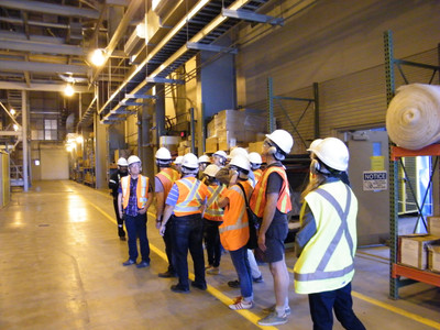 Touring the Power Plant