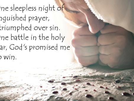 Sleepless Night of Anguished Prayer