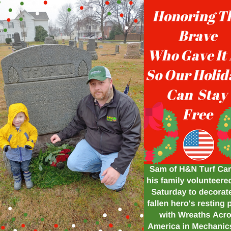 H & N Honors Those Who Gave It All