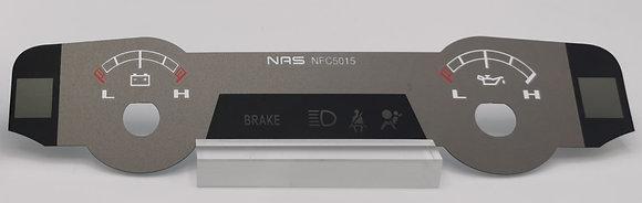 "2013-18 RAM Limited 7"" Display Top Gauges   Item: NFC5015"