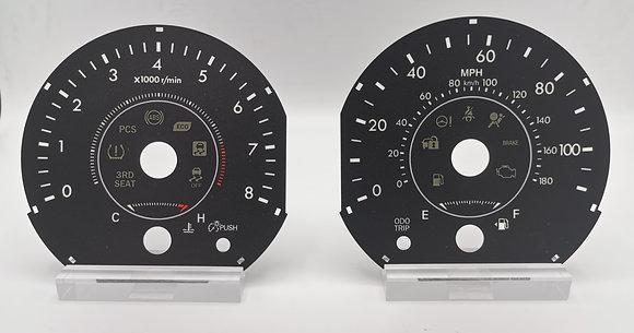 2017-2019 Toyota Sienna  Item: T1000