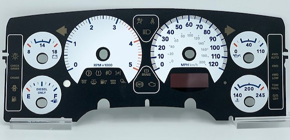 2007-09 Dodge RAM HD Diesel  Item: C1050