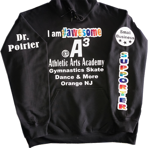 #Awesome Small Business Supporter Hoodie