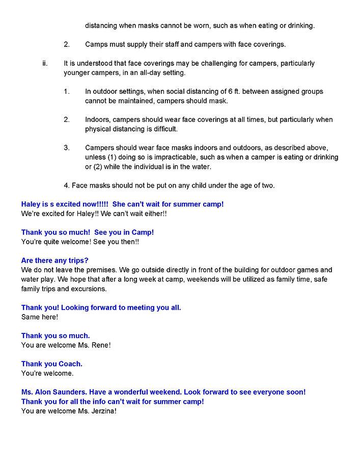 Parent Orientation Zoom Chat Transcript_