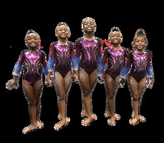 Competitive Gymnastics Team A3 Xcel Bronze