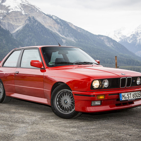 BMW E30 M3: THERE IS REPLACEMENT DISPLACEMENT!!