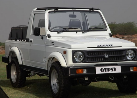 MARUTI SUZUKI GYPSY: THE MOUNTAIN GOAT🐐!