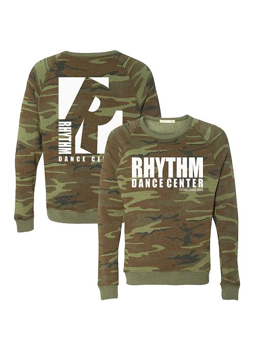 Rhythm Dance Crewneck Triblend Sweatshirt