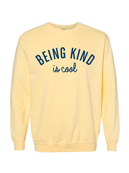 Being Kind is Cool Crewneck Sweatshirt