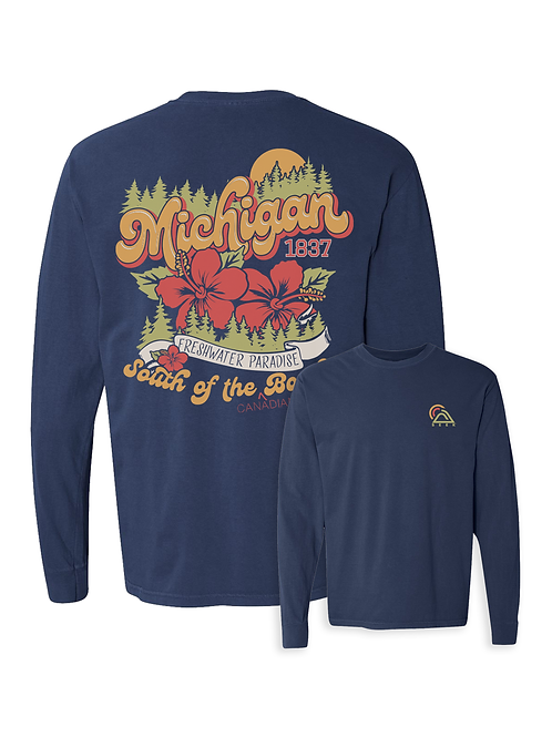 Michigan Paradise Long Sleeve Tee
