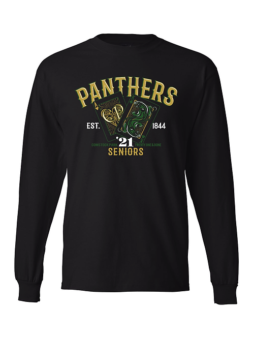 CP Seniors Blackjack Long Sleeve Tee