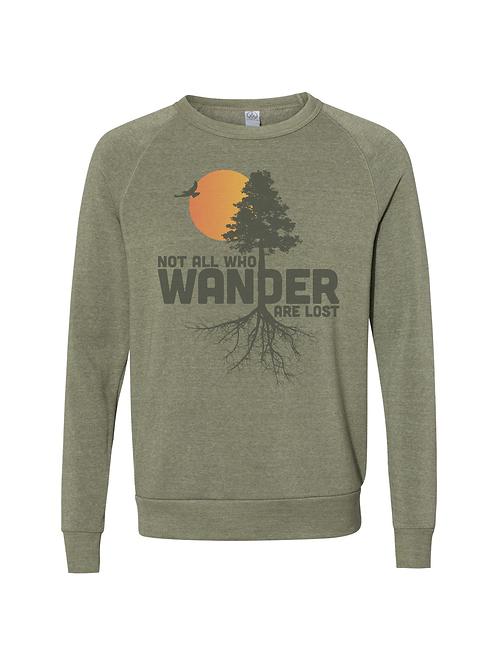 Wander Crewneck Triblend Sweatshirt