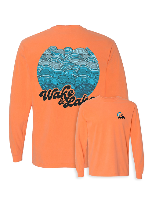 Wake & Lake Long Sleeve Tee