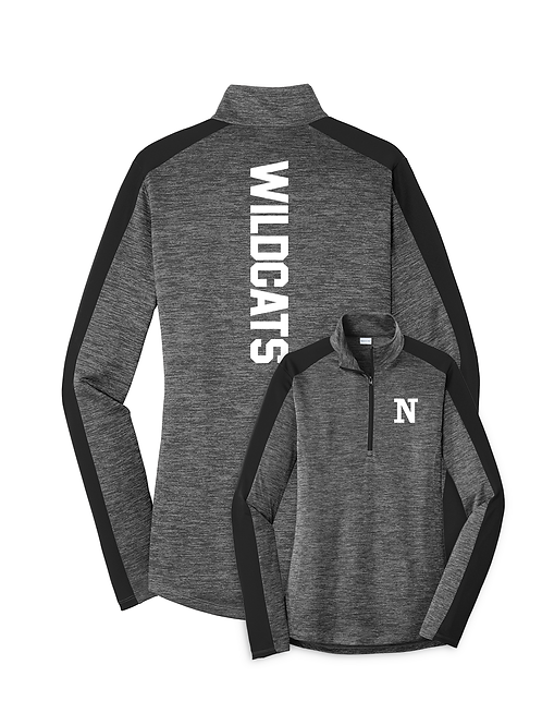 NV Spirit Ladies Lightweight Performance 1/4 Zip Shirt