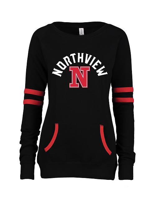 NV Spirit Ladies Varsity Pullover