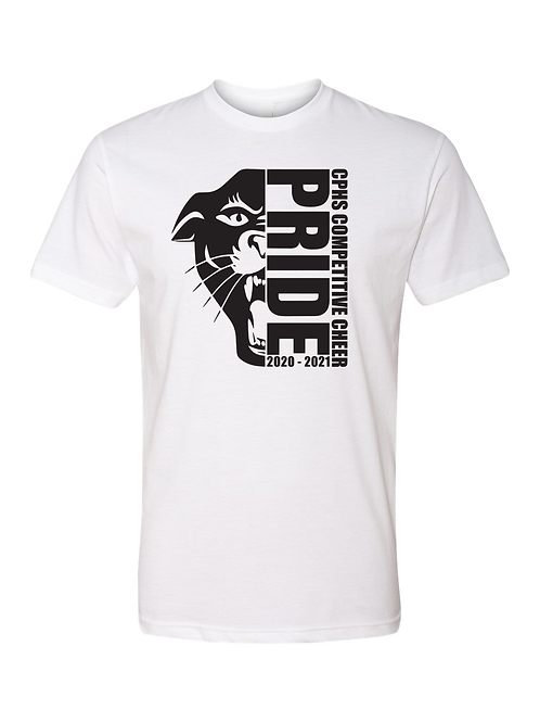 CP Panther Pride Cheer T Shirt