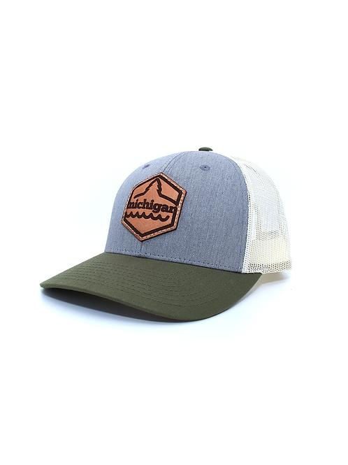 Michigan Badge Trucker Hat
