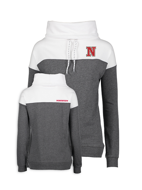 NV Spirit Ladies Colorblock Fleece Pullover