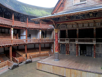 Shakespeare's Globe inside