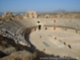 Onderdelen van een Romeins theater