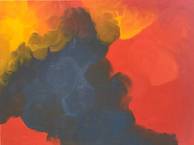 an abstract painting to help resolve conflict